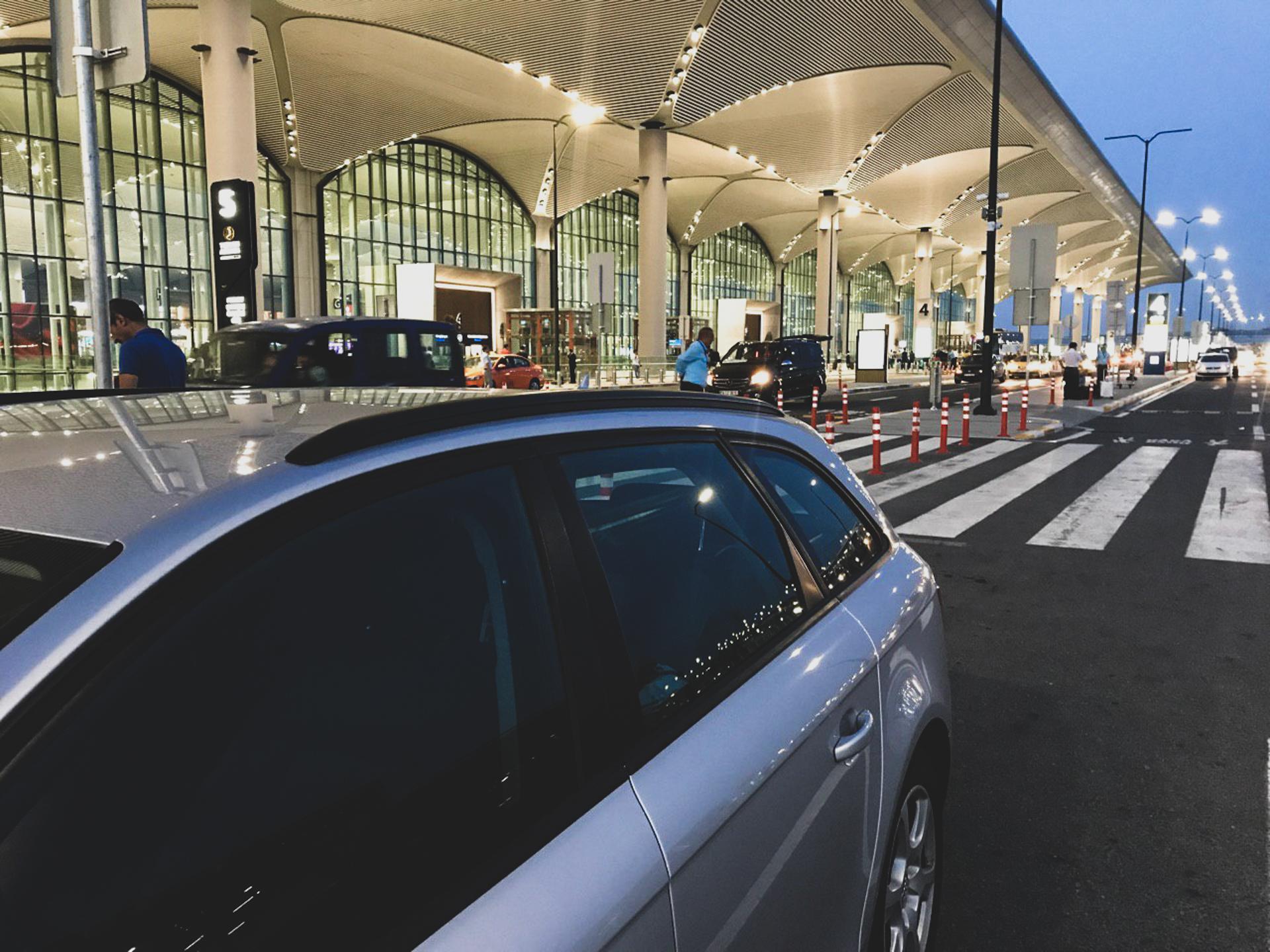 Ночной трансфер из аэропорта Стамбула